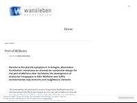 wansleben-architekten.de Webseite Vorschau