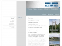 philippi-alu-am-bau.de Webseite Vorschau