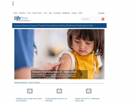 lifeline.de Webseite Vorschau