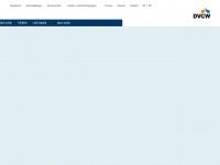 dvgw.de Webseite Vorschau
