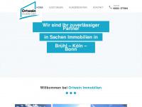 ortwein-immobilien.de Webseite Vorschau
