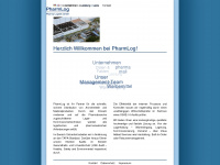 pharmlog.de Webseite Vorschau
