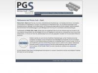 phoenixguss.de Webseite Vorschau