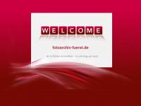 photoarchiv-fuerst.de Webseite Vorschau