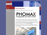 phomax.de Webseite Vorschau