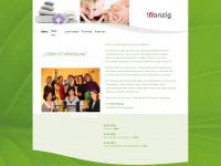 physio-nanzig.de Webseite Vorschau