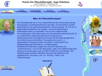 physiotherapie-petzinna.de Webseite Vorschau