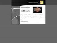 akdmedia.com Webseite Vorschau
