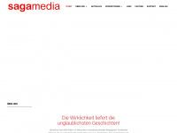 sagamedia.de Webseite Vorschau