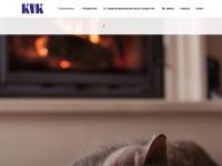 kvk-kamine.de Webseite Vorschau