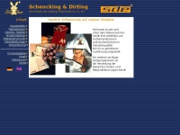 schenckingdirting.de Webseite Vorschau