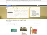 sl-schrauben.de Webseite Vorschau
