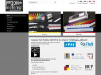 meterex.com Webseite Vorschau