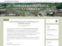 dorfgemeinschaft-stommeln.de