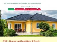 swk-heizung.de Webseite Vorschau