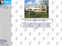 tedima.de Webseite Vorschau