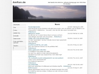 amran.de Webseite Vorschau