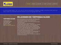 treppenbau-klaeser.de Webseite Vorschau