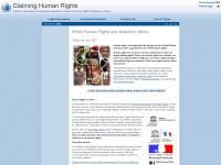claiminghumanrights.org Thumbnail