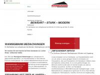wannigmann-gmbh.de Webseite Vorschau