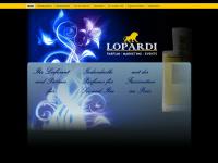 lopardi.de Webseite Vorschau