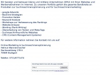 wannenmacher.info Webseite Vorschau