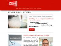 zgih.de Webseite Vorschau