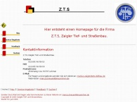 zts-tiefbau.de Thumbnail