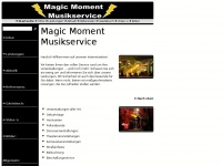 magicmoment-musikservice.de