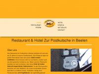 zur-postkutsche.de Webseite Vorschau