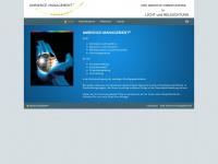 ambience-management.de Webseite Vorschau