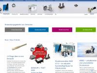 amsys.de Webseite Vorschau