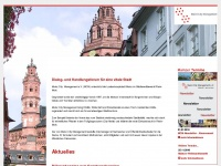 mainz-citymanagement.de Webseite Vorschau