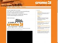 creme21-rallye.de Webseite Vorschau