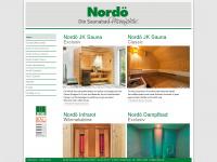 nordoe.de Webseite Vorschau