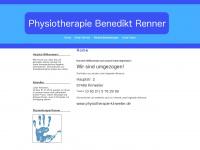 physiotherapie-nw.de Webseite Vorschau
