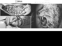xdream-tattoo.de Webseite Vorschau