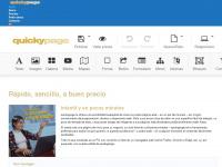 quickypage.com Webseite Vorschau