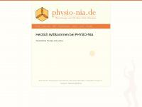 physio-nia.de Webseite Vorschau