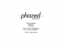 phazed.de Webseite Vorschau