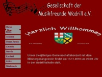 Musikfreunde-wadrill.de