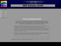 ams-software.de Webseite Vorschau
