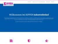 kipper-industriebedarf.de Webseite Vorschau
