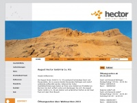 kies-hector.de Webseite Vorschau