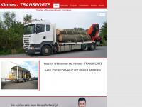 kirmes-transporte.de Webseite Vorschau