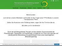 physiotherapieverbund.de Webseite Vorschau
