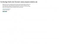 ampere-elektro.de Webseite Vorschau