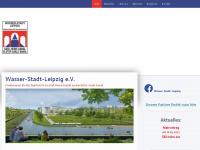 wasser-stadt-leipzig.de Webseite Vorschau