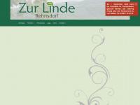 zur-linde-gasthaus.de Webseite Vorschau