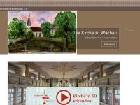 kirchbauverein-wachau.de Webseite Vorschau